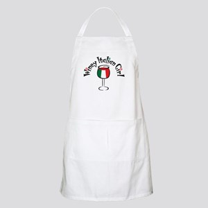 Winey Italian Girl BBQ Apron