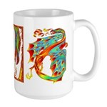 Wind Dragon Large Mug