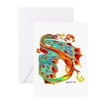 Wind Dragon Greeting Cards (Pk of 20)