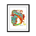 Wind Dragon Framed Panel Print