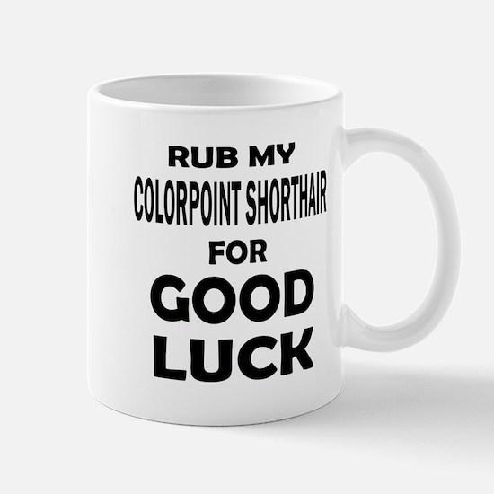 Rub my Colorpoint Shorthair for Mug