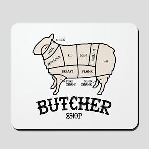 Butcher Lamb Mousepad