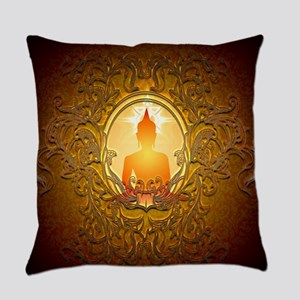 Buddha silhouette with floral elements Everyday Pi