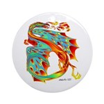 Wind Dragon Ornament (Round)