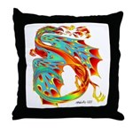 Wind Dragon Throw Pillow