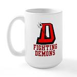 Fighting Demons Large Mug