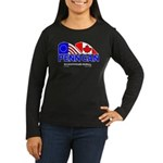 Penn Can original logo Women's Long Sleeve Dark T-
