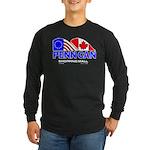 Penn Can original logo Long Sleeve Dark T-Shirt