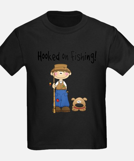 Hooked on Fishing T-Shirt