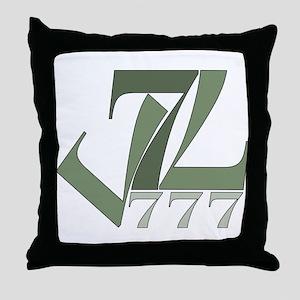 Sevens Throw Pillow