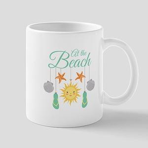 At The Beach Mugs