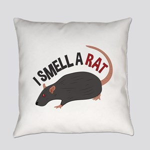 I Smell Rat Everyday Pillow