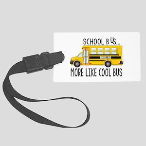 Cool Bus Luggage Tag