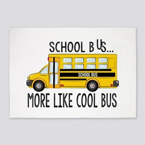 Cool Bus 5'x7'Area Rug