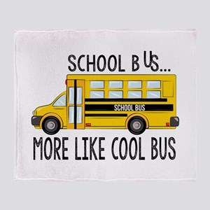 Cool Bus Throw Blanket