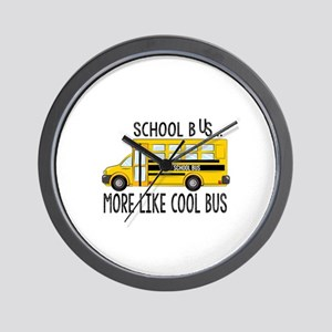 Cool Bus Wall Clock
