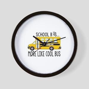 Cool Bus Wall Clock