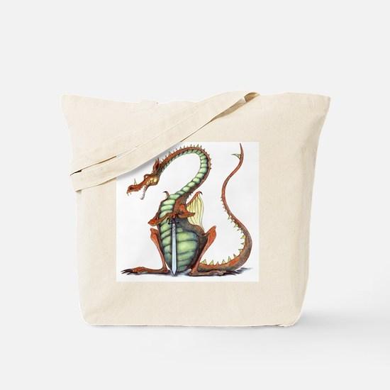 sir draagon tote bag