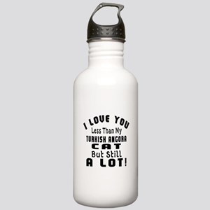 I Love You Less Than M Stainless Water Bottle 1.0L