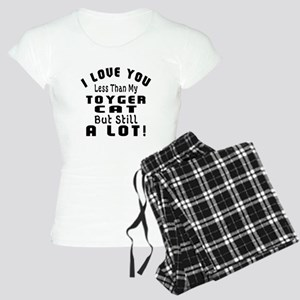 I Love You Less Than My Toy Women's Light Pajamas