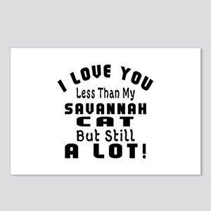 I Love You Less Than My S Postcards (Package of 8)