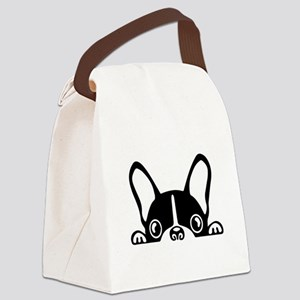French Bulldog Canvas Lunch Bag