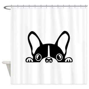 French Bulldog Shower Curtains