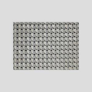 Grey Cardboard 5'x7'Area Rug