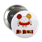 "Imagination Shoppe bunny 2.25"" Button (10 pack)"