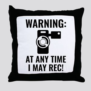 I May Rec Throw Pillow