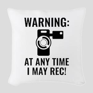I May Rec Woven Throw Pillow