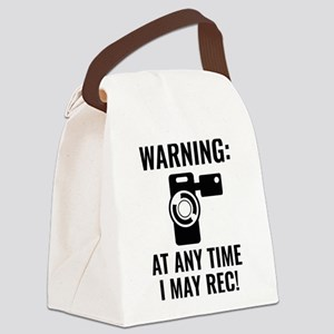 I May Rec Canvas Lunch Bag