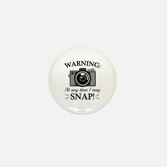 I May Snap Mini Button