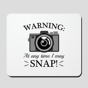 I May Snap Mousepad