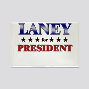 LANEY for president Rectangle Magnet