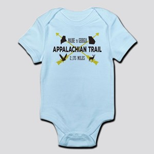 Cool Appalachian Trail Hiking Badge Body Suit