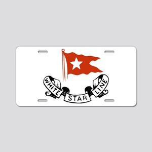 WhiteStar Aluminum License Plate