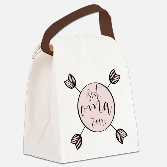 Best Oma Ever Canvas Lunch Bag