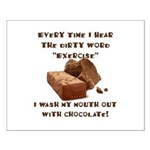 Chocolate Small Poster