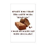 Chocolate Mini Poster Print