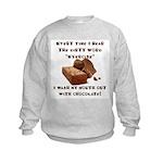 Chocolate Kids Sweatshirt