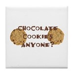ChocolateCookies? Tile Coaster