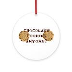 ChocolateCookies? Ornament (Round)