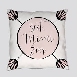 Best Mimi Ever Everyday Pillow