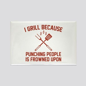 I Grill Rectangle Magnet