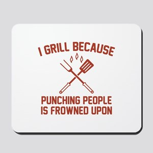 I Grill Mousepad