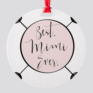 Best Mimi Ever Ornament