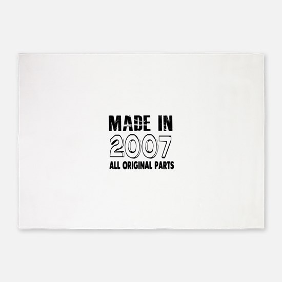 Made In 2007 5'x7'Area Rug