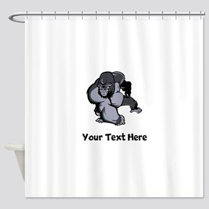 Big Gorilla (Custom) Shower Curtain