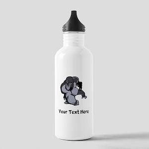 Big Gorilla (Custom) Water Bottle